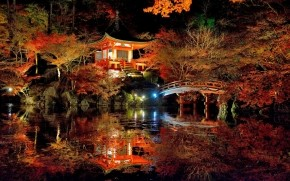 Lovely Japanese Garden wallpaper