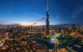 Night Lights in Dubai