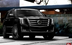 2015 Black Cadillac Escalade wallpaper