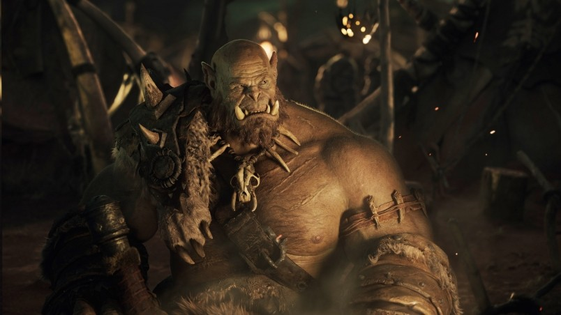 Warcraft Movie 2016 Orc wallpaper