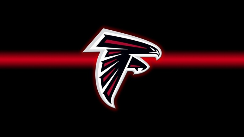 Hd Atlanta Falcons Backgrounds Desktop Background: Atlanta Falcons Logo HD Wallpaper