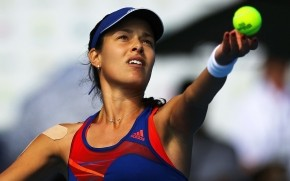 Ana Ivanovic Serve wallpaper