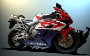Honda CBR Sketch wallpaper
