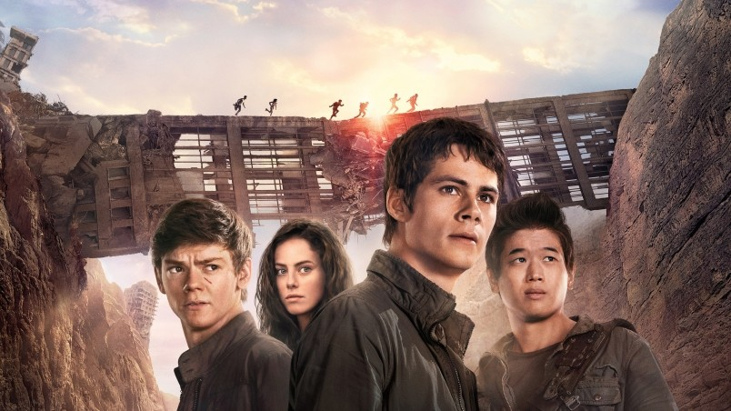 Maze Runner The Scorch Trials Poster wallpaper