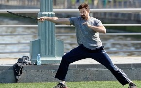 Pan: Hugh Jackman Training wallpaper