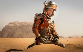 The Martian Matt Damon wallpaper