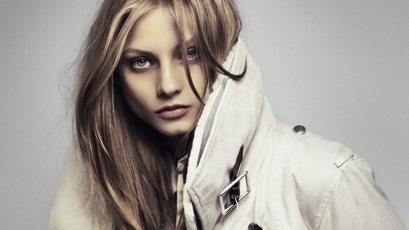 Anna Selezneva Trench Coat wallpaper