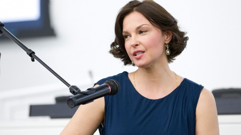 Ashley Judd Public Speech wallpaper