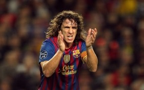 Carles Puyol Urging wallpaper