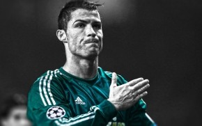 Cristiano Ronaldo Monochrome wallpaper