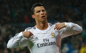 Cristiano Ronaldo in Rain wallpaper
