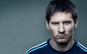 Messi Pose wallpaper