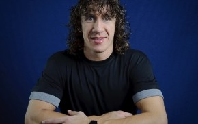 Carles Puyol Smile wallpaper