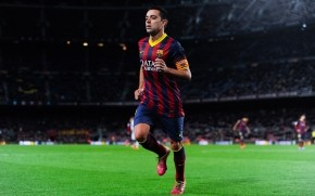 Xavi Warming Up wallpaper