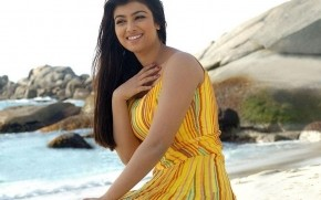 Ayesha Takia at the Beach wallpaper