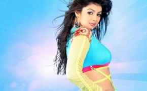 Colorful Ayesha Takia wallpaper