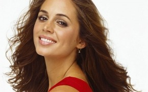 Eliza Dushku Smile wallpaper