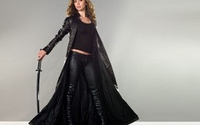 Eliza Dushku Sword wallpaper