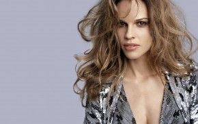 Bristly Hilary Swank wallpaper
