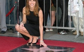 Hilary Swank Walk of Fame wallpaper