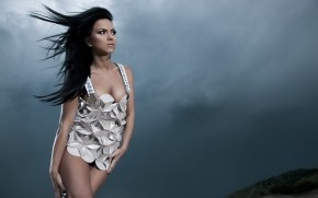 Inna Music Dress wallpaper