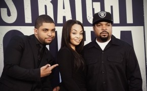 Straight Outta Compton O'Shea Jackson and Ice Cube wallpaper