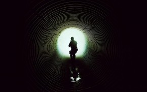 Sicario Sewer Tunnel wallpaper