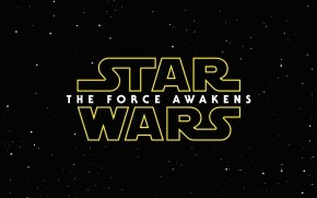 Star Wars The Force Awakens Logo wallpaper
