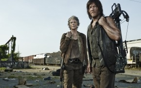 The Walking Dead Carol and Daryl wallpaper