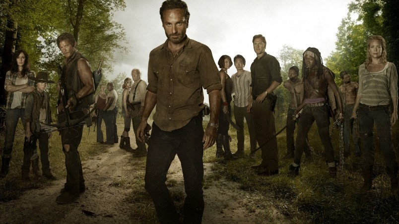 The Walking Dead Full Cast wallpaper