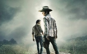 The Walking Dead Rick and Carl Grimes wallpaper