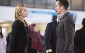 Homeland Carrie and Peter wallpaper