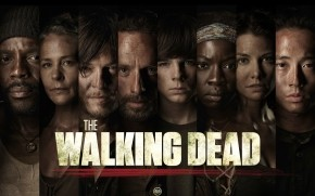 The Walking Dead Characters Poster wallpaper