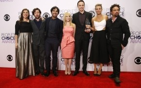 The Big Bang Theory Peoples Choice Awards wallpaper