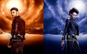 Heroes Reborn Carlos Gutierrez and Joanne Collins wallpaper