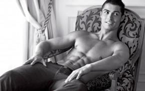 Monochrome Cristiano Ronaldo