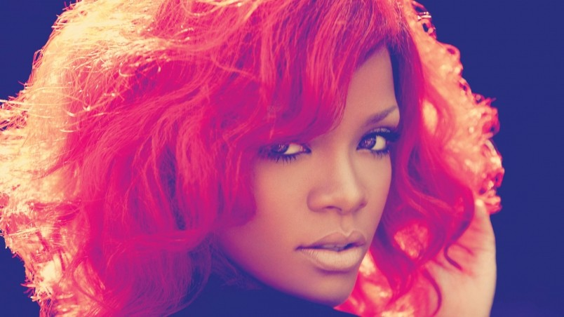 Rihanna Red Hair wallpaper