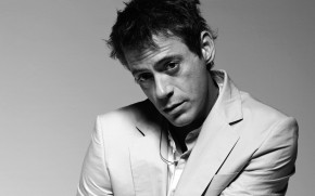 Robert Downey Junior Monochrome wallpaper