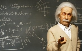 Albert Einstein Figurine wallpaper
