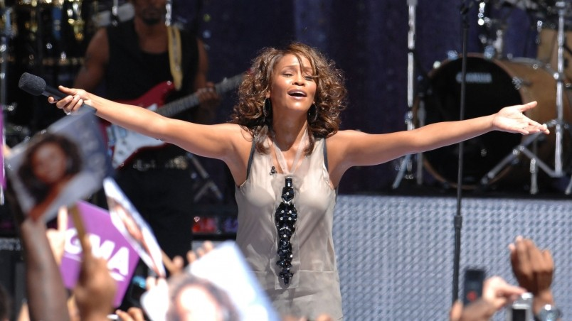 Whitney Houston Concert wallpaper