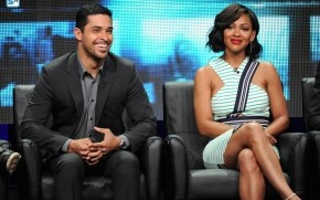 Minority Report Meagan Good and Wilmer Valderrama wallpaper