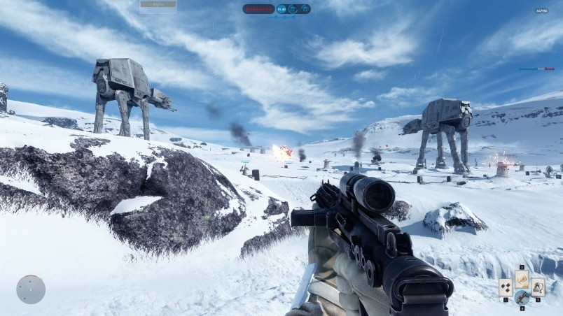 Star Wars Battlefront Gameplay Hd Wallpaper Wallpaperfx