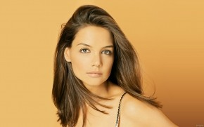 Katie Holmes Orange wallpaper