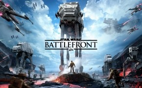 Star Wars Battlefront Poster wallpaper
