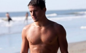 Channing Tatum Seaside wallpaper