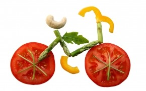 Vegie Bicycle wallpaper