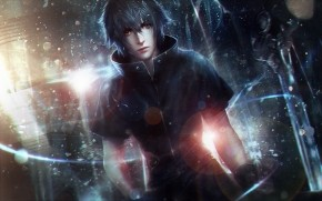 Final Fantasy XV Art Boy Light wallpaper