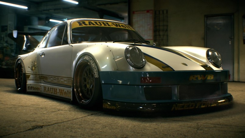 Need For Speed Porsche Rauh-Welt wallpaper