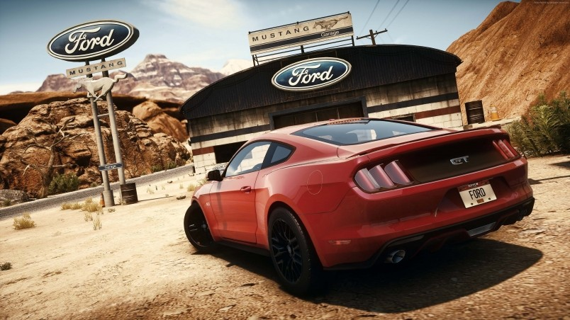 Need For Speed Ford Mustang wallpaper