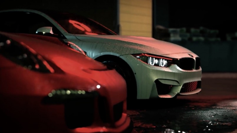 Need For Speed BMW and Porsche wallpaper